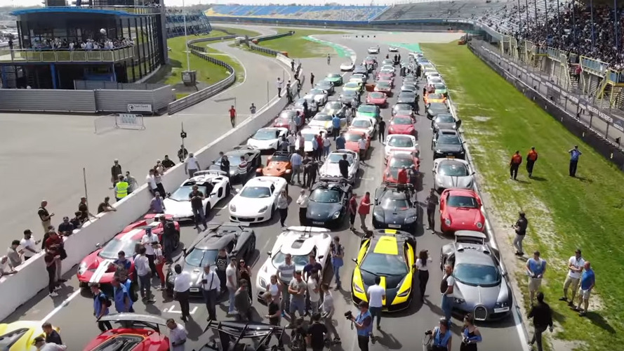 Amazing Hypercar Track Gathering Probably Has Your Favorite Model