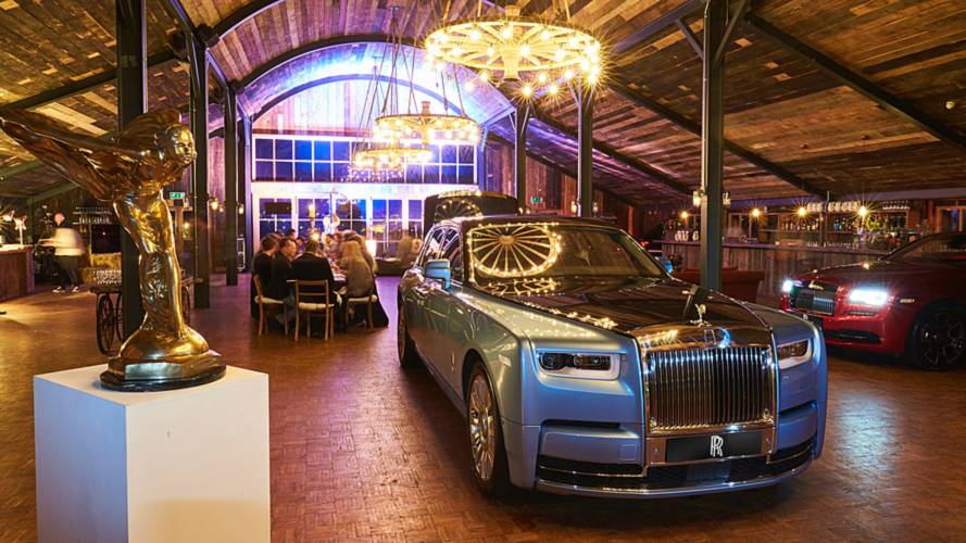 No coffee allowed –Rolls holds a 'cars and cognac' meeting