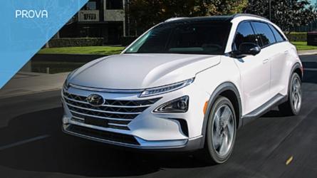 Hyundai Nexo, l\'auto a idrogeno di serie più veloce del mondo