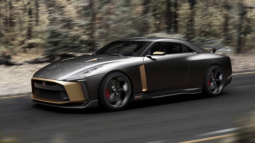 Nissan Gtr R36 >> The Nissan GT-R50 by Italdesign Is A GT-R 'Without Limits'