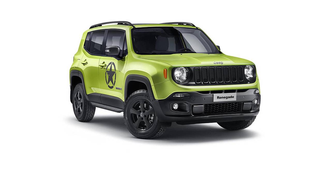Jeep Renegade Mopar Geneva