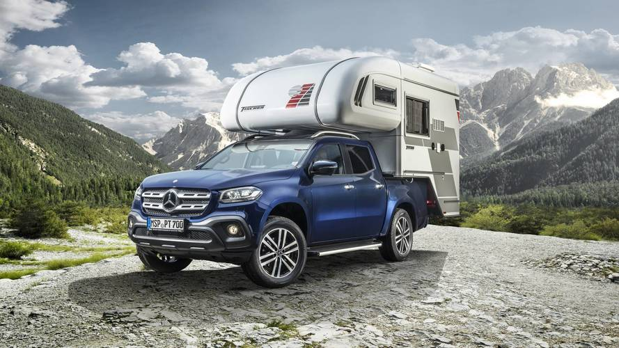 Now you can get your Mercedes X-Class turned into a camper van