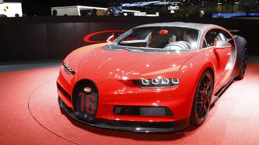 Bugatti Chiron Sport at the 2018 Geneva motor show