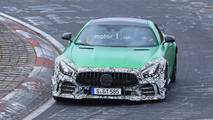 2019 Mercedes-AMG GT R facelift spy photos