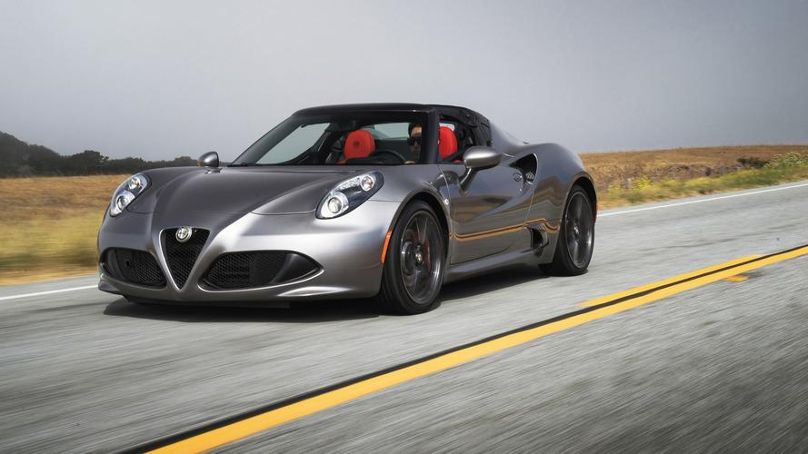 2016 Alfa Romeo 4C and 4C Spider introduced with minor updates