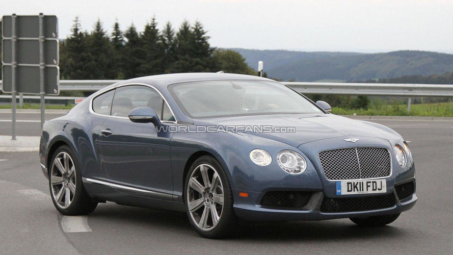 2012 Bentley Continental GT Speed spied undisguised