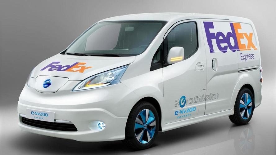 Nissan e-NV200 panel van concept unveiled