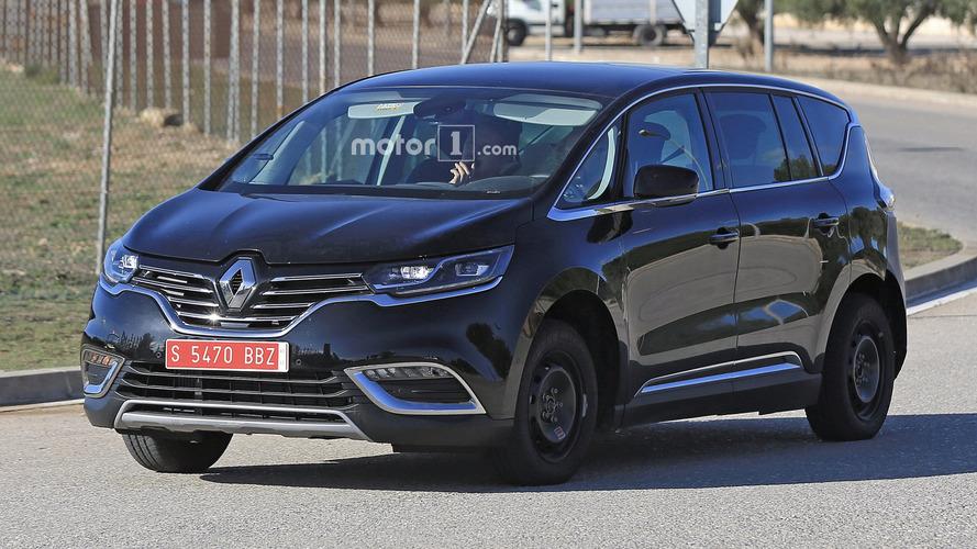 Renault Espace mulet photos espion