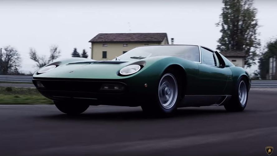 Lamborghini restores Miura SV prototype