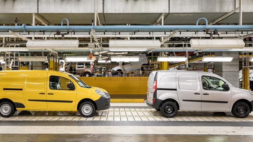 Renault a produit 30'000 Kangoo Z.E.