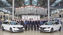2017 Skoda Octavia facelift all versions