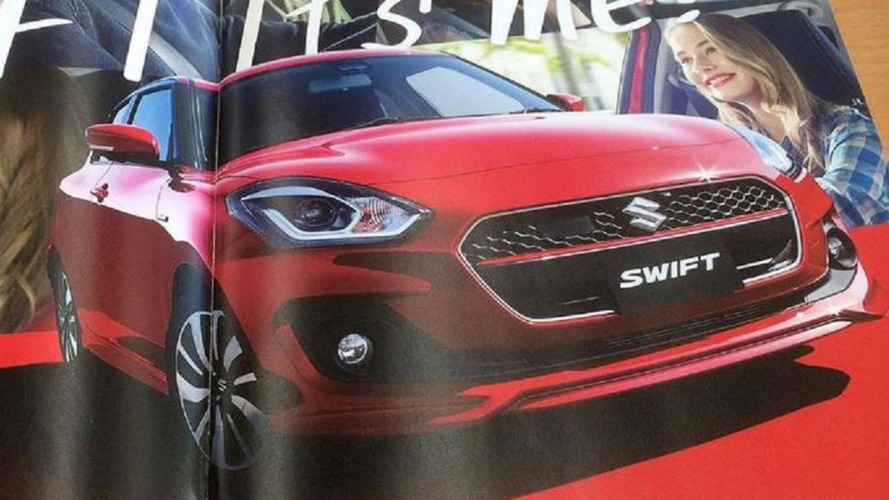Suzuki Swift 2017 - Catálogo vazado antecipa visual e detalhes técnicos