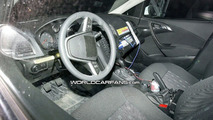 2010 Opel Astra interior spy photos