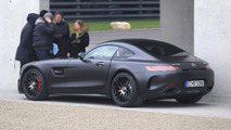 Mercedes-AMG GT C Coupe Edition 50 spied without camo