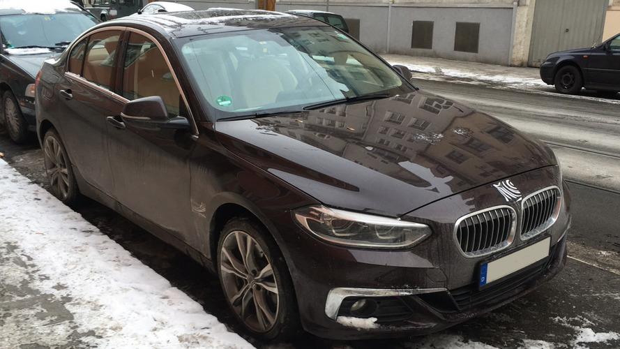 BMW 1 Serisi Sedan Münih'te görüntülendi