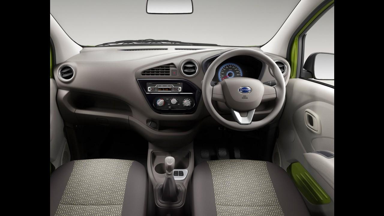 """Primo do Kwid, Datsun Redi-Go faz estreia global e promete espaço """"honesto"""""""