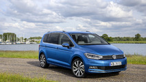 VW Touran 2017 azul