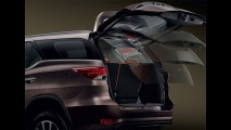 Toyota SW4 2016: primeiras imagens oficiais do interior são reveladas
