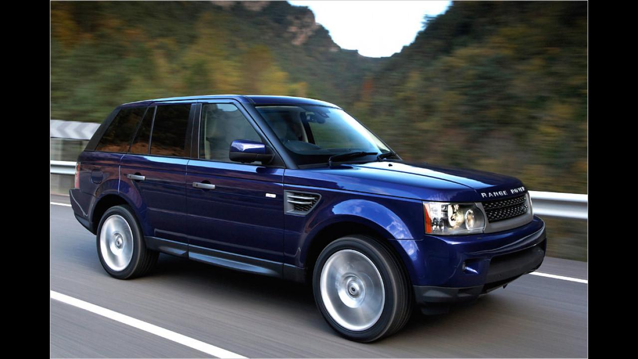 Top: Range Rover Sport