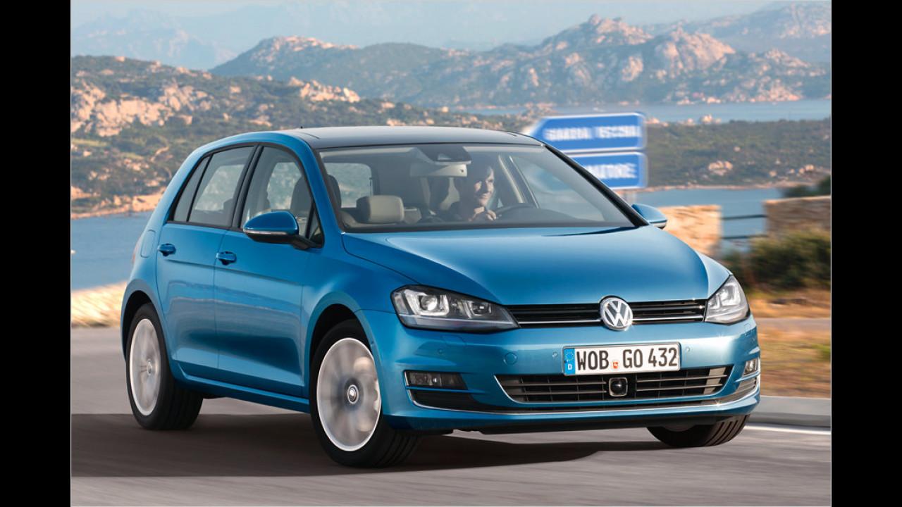 Platz 14: VW Golf 1.6 TDI