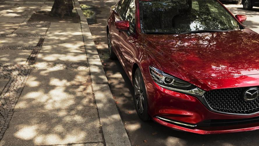 Mazda shows first glimpse of new 6 ahead of LA debut