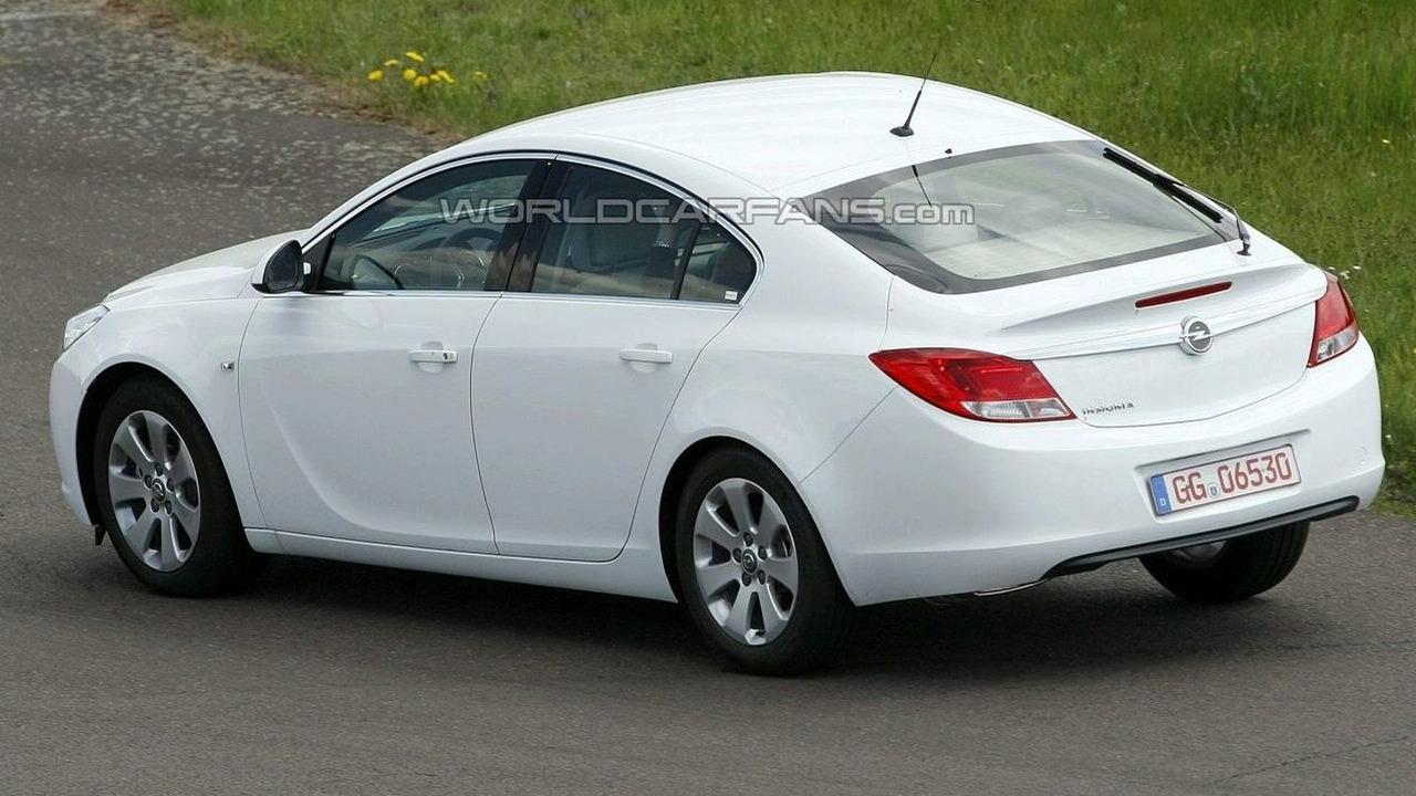 Opel Insignia Hatchback Spy Photo