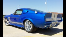 Ford Mustang Blue Boss Custom