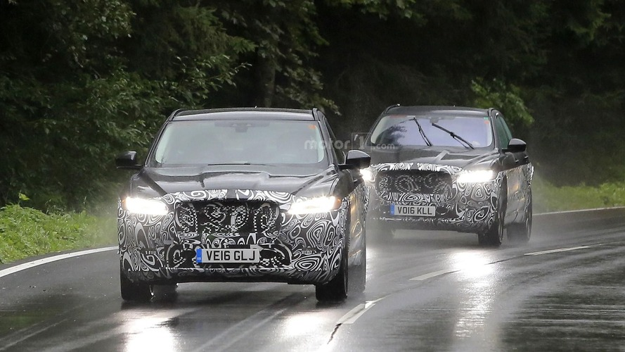 Possible Jaguar E-Pace test mules spotted