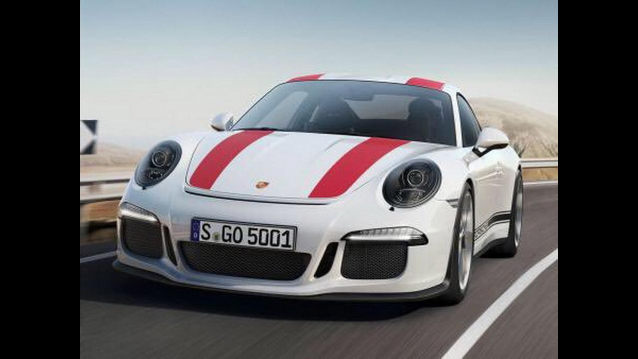 Porsche 911 R, prime foto