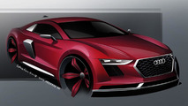 2015 Audi R8 artist rendering