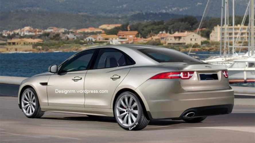 2015 Jaguar XS rendered