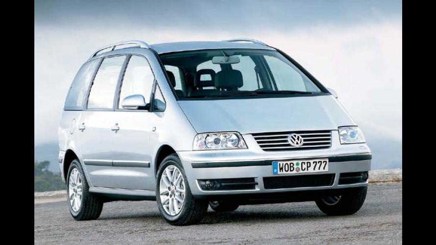 Schadstoffarm und 140 PS stark: VW Sharan mit 2.0 TDI