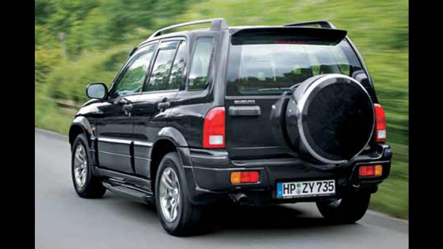 Suzuki Grand Vitara: Jetzt auch mit V6 2.5 und Automatik