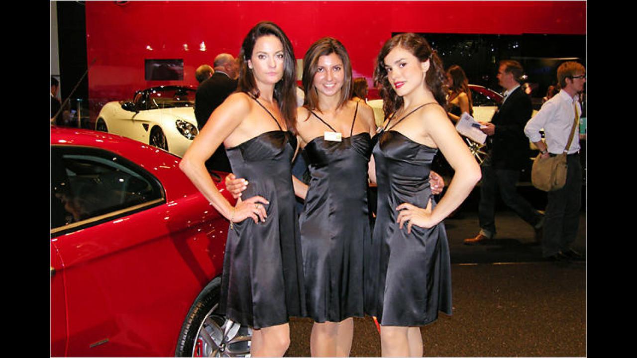 Ob dieses Trio italienischer Abstammung ist, wollte es uns nicht verraten