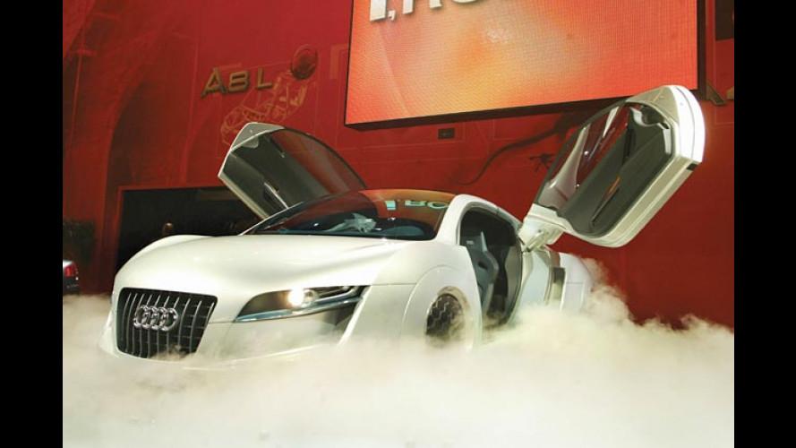 Reise in die Zukunft: Sportwagen Audi RSQ für Will Smith