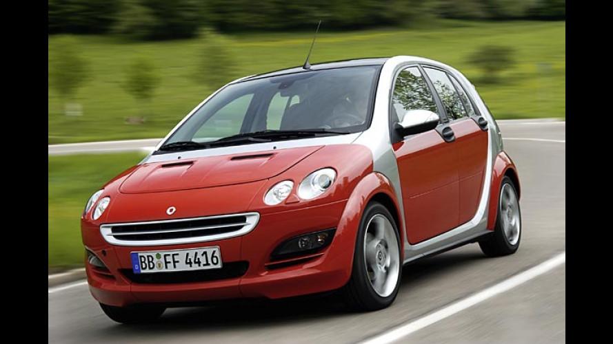 Smart Forfour cdi: Kleiner Diesel mit großer Leistung