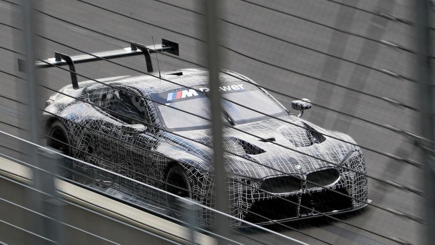 BMW M8 GTE: primera prueba en circuito