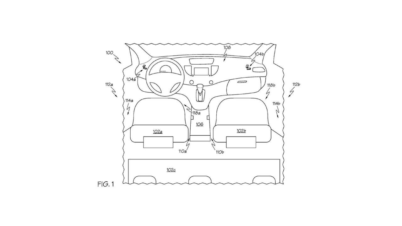 Toyota under seat capture device