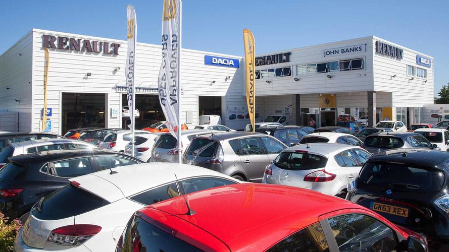 Western European car sales down as demand slumps