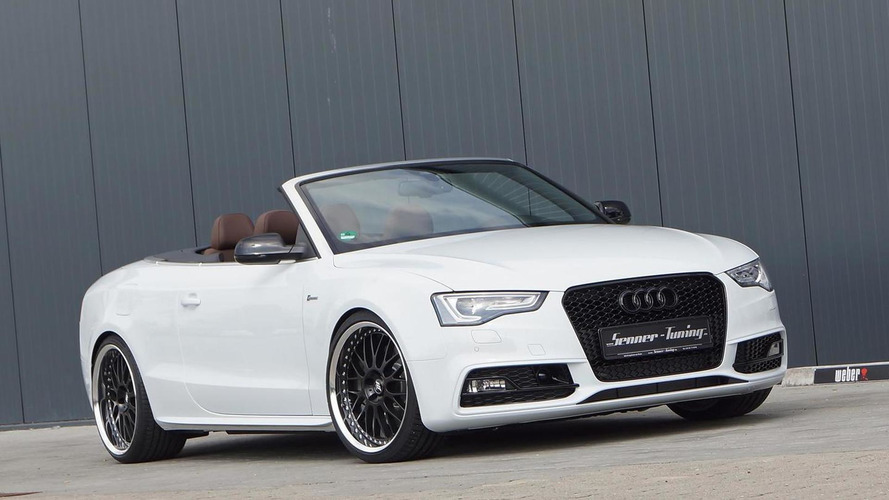 Audi S5 3.0 TFSI Convertible prepared by Senner Tuning