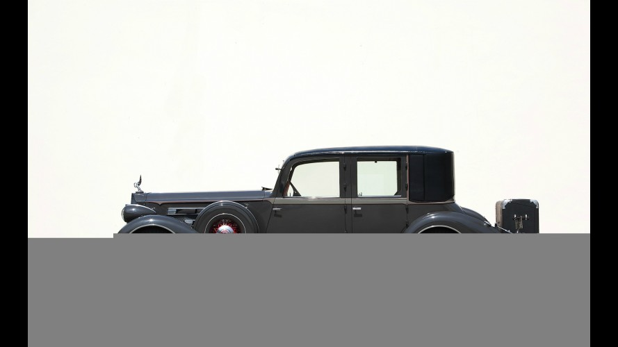 Packard Twelve Close-Coupled Limousine by Brewster