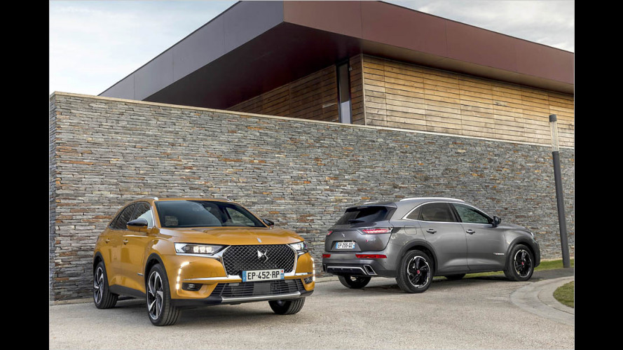 DS 7 Crossback first drive