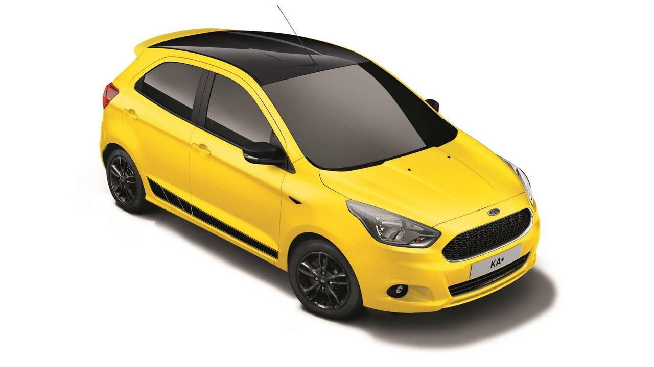 Ford Ka+ Color Edition