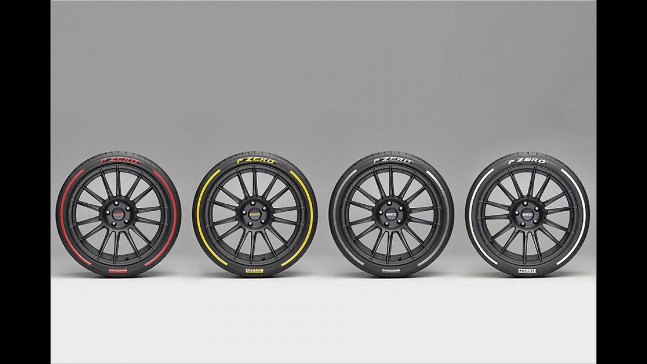 Farbige Reifen