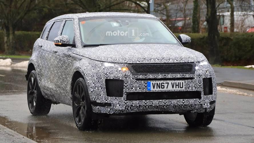 Photos espion - Le futur Range Rover Evoque débusqué