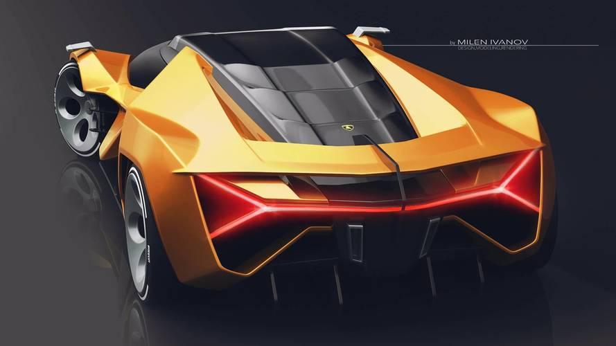 Lamborghini Concepto X Render By Milen Ivanov