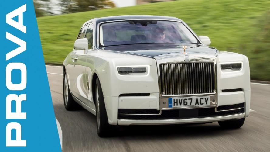 Nuova Rolls-Royce Phantom, dove tutto è opulenza