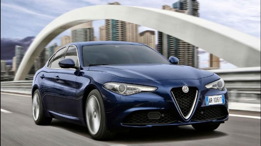 Alfa Romeo Giulia, arriva in concessionaria (e in TV) [VIDEO]