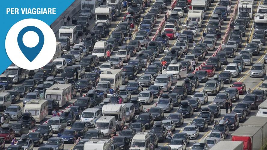 Previsioni traffico, come evitare le code da esodo estivo