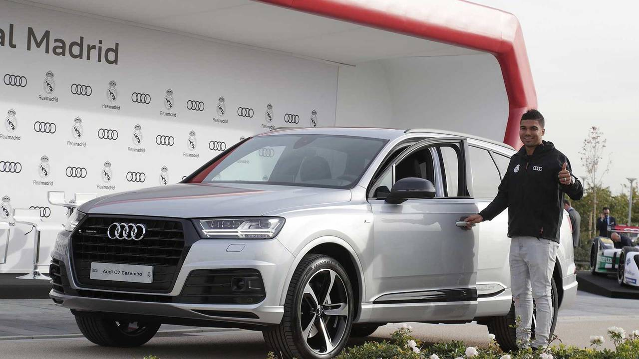 Casemiro (#14) - Audi Q7